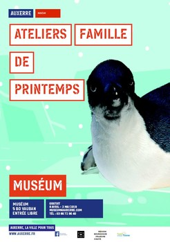 Affiche ateliers famille